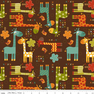 Riley Blake Home Decor Giraffe Crossing (outlet)